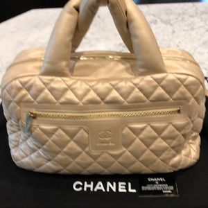 Chanel Gold Hobo